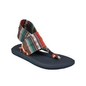 NWT Sanuk Yoga Sling 2 Sandals